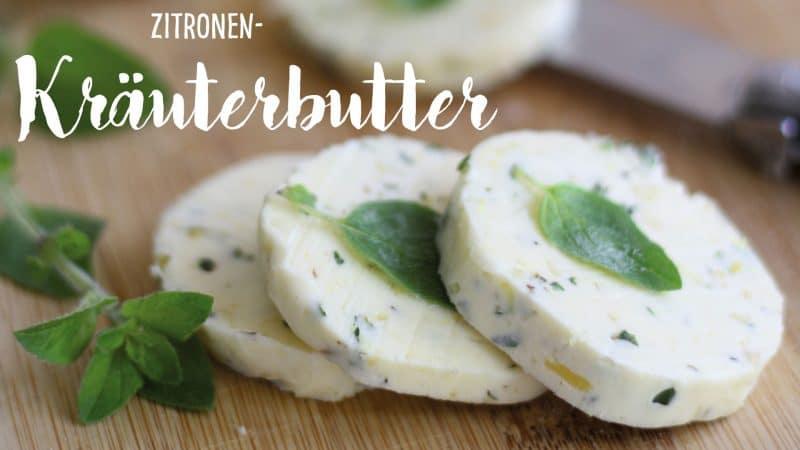 Zitronen-Kräuterbutter